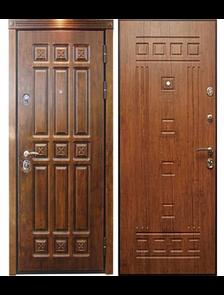 """Элит """"Винорит"""" - Внешняя и внутренняя стороны входной двери"""