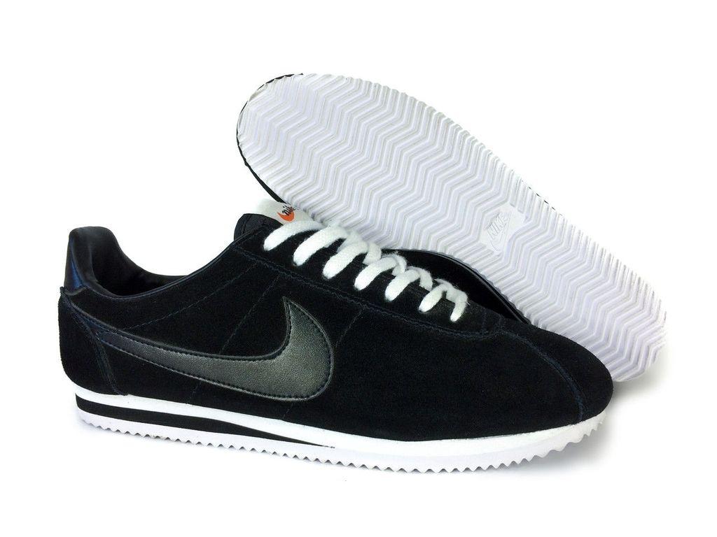 6fbd684d Кроссовки Nike Cortez черные, цена в Екатеринбурге в интернет-магазине Sn
