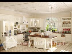 Кухонный гарнитур с фасадами Прованс