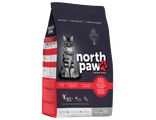 North Paw™ Сухой БЕЗ ЗЕРНОВОЙ корм для кошек Морепродукты с Лобстером 2,25 кг