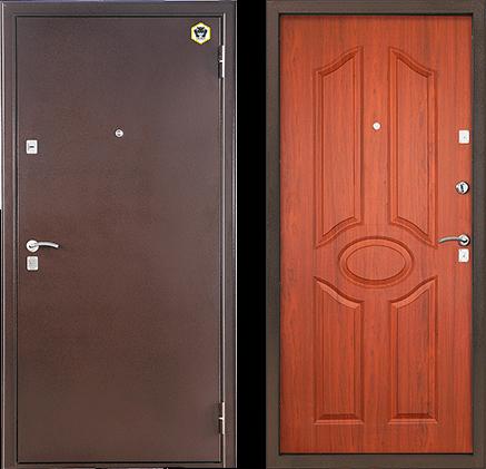 двери металлические стил