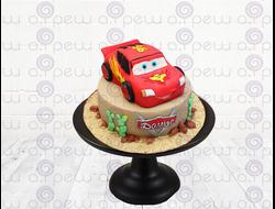 """Торт № 1 """"Тачки"""" (Детские торты)"""