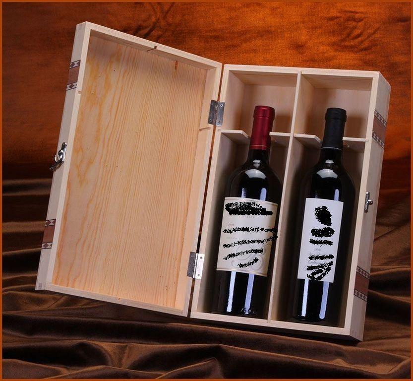 Вино в ящике подарок 91