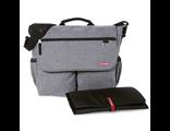 Универсальная сумка для мамы Skip Hop Dash Signature Heather Grey