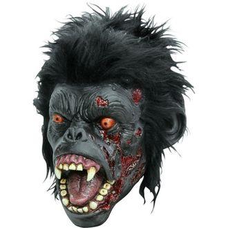 страшная маска, горилла, обезьяна, зомби, кровь, клыки, зубы, макака, латекс, силикон, волосы, маски