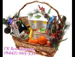 Подарочная корзина Сладости и вкусности