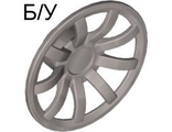 ! Б/У - Wheel Cover 9 Spoke - 24mm D. - for Wheel 55982, Pearl Light Gray (62701 / 4527058) - Б/У