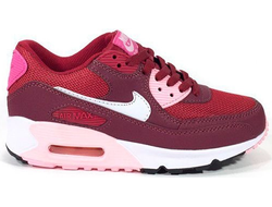 Nike Air Max 90 бордовые (36-40)