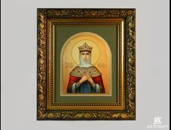 Святая царица Феофания. Ростовская финифть.