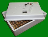 Инкубатор ИБ2НБ-3-6Ц (150 яиц, поворот яиц вручную без решётки, 220/12 В, цифровой терморегулятор)