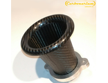 carbon intake air horn for toyota levin throttle 4А GE silver top