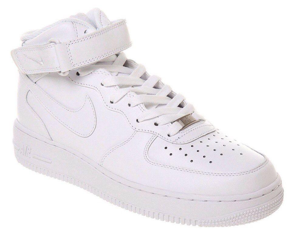 6f089a62 Nike Air Force 1 Mid white — цены, размеры, доставка, купить ...