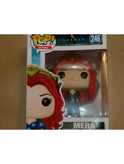 DC Funko Pop! Aquaman: Mera 246 - Коллекционная фигурка Фанко Поп! Аквамен: Мера 246