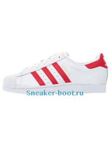 Adidas Originals Superstar Foundation White / Red (36-40)