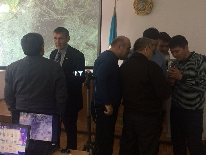 "The founder of the project ""Agrarum"", Nikolay Zelenskii conducted education for farmers in Kazakhsta"