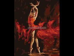 Огненный танец,  худ. Атрошенко