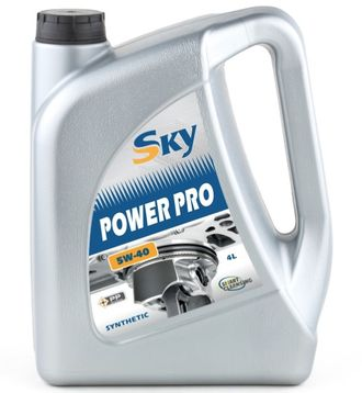 Моторное масло SKY Power Pro 5W-40