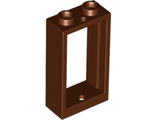 Window 1 x 2 x 3 Flat Front, Reddish Brown (60593 / 6058084)