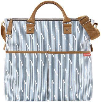 Сумка для мамы Skip Hop DUO Deluxe blue print stripe