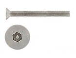 Винт потай M 3X 8 secur pin-hex 2mm Нерж.A2 9112
