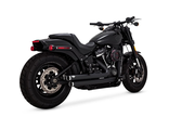 47941 VANCE & HINES BIG SHOTS STAGGERED BLACK