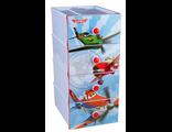 Детский пластиковый комод Дисней Самолёт 4 секции