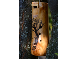 Bass wooden ocarina in G#