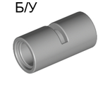 ! Б/У - Technic, Pin Connector Round 2L with Slot Pin Joiner Round, Light Bluish Gray (62462 / 4526985 / 6173127) - Б/У