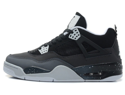 Air Jordan IV Black/Grey (41-45) арт-008