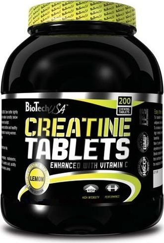 BioTech Creatine tablet 200 таб