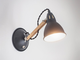 Bermondsey Wall Light in Carbon - Steel   цвет Карбон   арт.LWO10