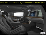Various luxury elongated and armored limousines based on Mercedes-Maybach S450 / 560 4Matic, 650 / 650 X222 Guard VR9 and VR10, 2018 YP