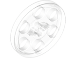 Technic Wedge Belt Wheel  Pulley , Trans-Clear (4185 / 6062324)