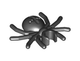 Spider with Round Abdomen and Clip, Black (30238 / 4113209)