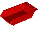 Vehicle, Tipper Bed 4 x 6, Solid Studs, Red (15455 / 6215669)
