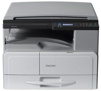 Принтер Ricoh MP 2014D (A3, 20стр/мин, дуплекс, крышка, цв.сканер, в комплекте тонер (4000стр), девелопер, инструкция [910371]