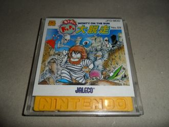 Monty on the run Doki Doki Daidassou для Famicom Disk System