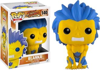 Фигурка Funko POP! Vinyl: Games: Street Fighter: Blanka Hyper Fighting (Эксклюзив)