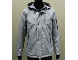 Мужская весенняя куртка серая 001-114