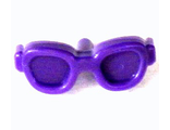 Friends Accessories Glasses, Oval Shaped with Pin, Dark Purple (93080l / 6030805)