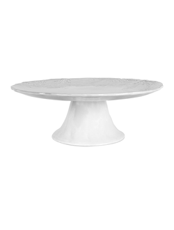 Подставка для торта CAKE STAND LIMBE ANTIQUE WHITE D33X10.6 EARTHENWARарт.32247