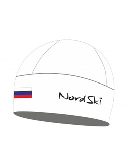 Шапка NordSki Active White Rus