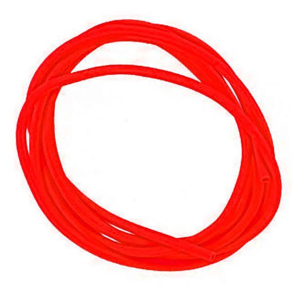 Кембрик Три Кита d.0,8*1,5 флюоресцентный красный