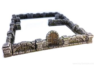 Mansion stone walls (PAINTED)