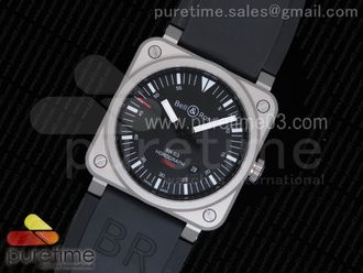 BR 03-92 Horograph Satin-polished Steel