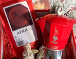Набор Atlas Coffee + гейзер Bialetti + сладости