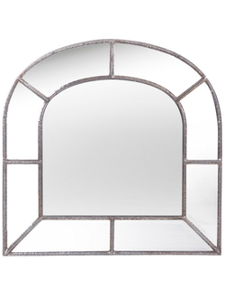 Зеркало арка MIRROR ELIOR BRONZE 121.5X119.5CM IRON+MDF+MIRROR 30130