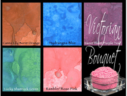 """Victorian Bouquet""- MAGICAL Shimmer Powders"