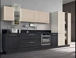 Кухоннный гарнитур с фасадами Адриано рамочный
