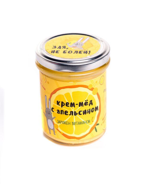 """Крем-мёд """"Зая, не болей"""""""